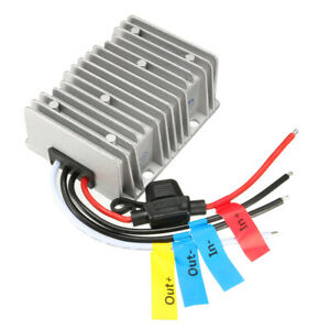 New Big size Waterproof Dc 36v 28 50v To 12v 30a Step down Converter Regulator