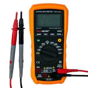 Digital Multimeter Voltmeter Ohmeter Volt Ac Dc Tester Peakmeter Authorized