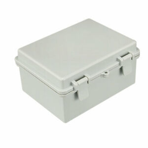 225 X 170 X 110mm Electronic Plastic Diy Junction Box Enclosure Case Gray