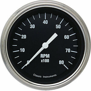 Classic Instruments Hr80slf Hot Rod Series Tachometer
