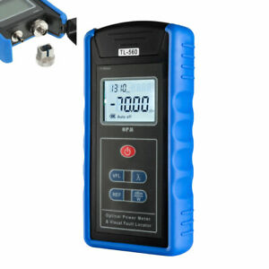 5km 70 10 Dbm Portable Optical Power Meter Visual Fault Locator Fiber Blue