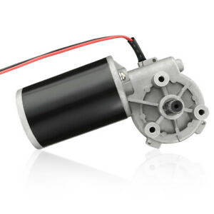 Jcf63l Dc24v 80w 50rpm Speed Reducing High Torque Electric Gear Box Motor