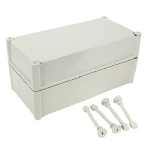 15 x7 5 x7 1 Abs Dustproof Ip65 Junction Box Electric Project Enclosure