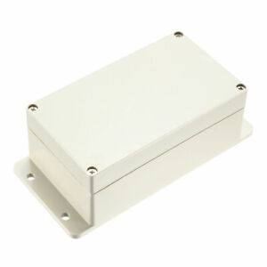 158x92x67mm Electronic Abs Plastic Diy Junction Box Enclosure Project Case Gray