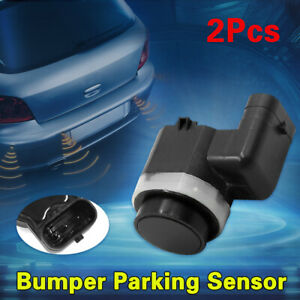 2pcs 6g92 15k859 Aa Car Bumper Reverse Parking Assist Sensor For Ford