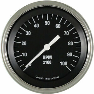 Classic Instruments Hr10slf Hot Rod Series Tachometer