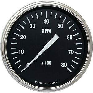Classic Instruments Hr71slf Hot Rod Series Tachometer