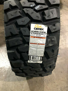 2 New Lt 305 65 17 Dick Cepek Extreme Country 10 Ply Mud Tires