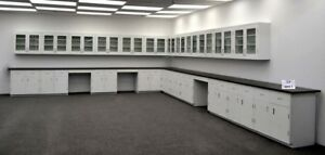 39 Base 36 Wall Laboratory Furniture Benches Cabinets W Tops R e1 507
