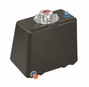Jaz Products 299 103 01 Econo Rail Fuel Cell 3 Gallon Black Low Pro Drag Fill Ca