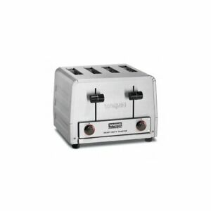 Heavy duty 4 slot Toaster 120v 2200w Waring Commercial Wct800
