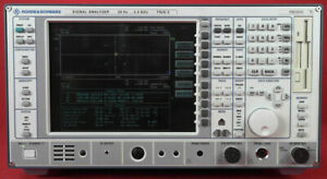 Rohde Schwarz Fsiq3 Spectrum Analyzer 20 Hz To 3 5 Ghz 100082