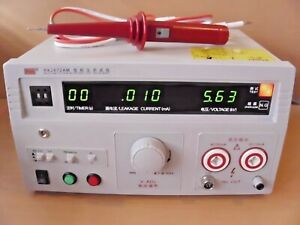 New 5kv Ac dc Hipot Tester high Voltage insulation breakdown Test 110v Version