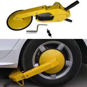 Wheel Clamp Lock Anti Theft Safety Lock Of Auto Car For Boat Trailers Caravan