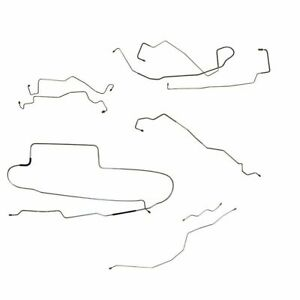 1999 2005 Ford Excursion Complete Brake Line Set Kit With Abs 8pc Stainless