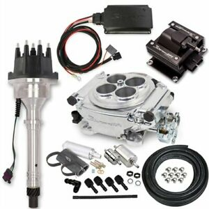 Holley 550 510k4 Sniper Efi Self tuning Hyperspark Master Kit Small Block big Bl