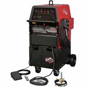 Lincoln Electric Precision Tig 375 Tig Welder Ready pak k2624 1