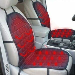 12v Heated Car Seat Cushion Cover Seat Heater Warmer Car Seat Massage Pad Winter