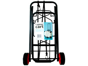 Portable Foldable Luggage Cart Folding Roller Carts With Wheels Carrier 1 Pack