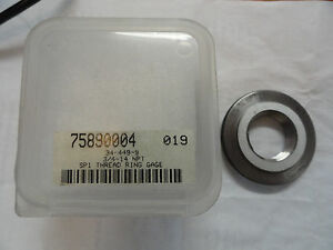 Spi 3 4 14 Npt Thread Ring Gage 34 449 9