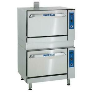 Imperial Ir 36 ds c 36 Double Deck Combination Oven