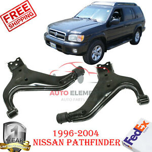 Front Lower Control Arms Kit For 1996 2004 Nissan Pathfinder Qx4 97 04 Set Of 2