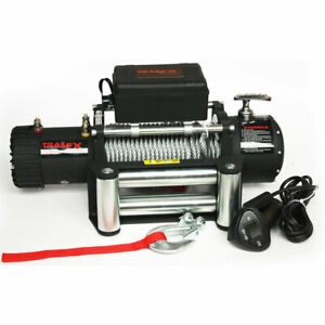 W08b Trail Fx Vehicle Recovery Winch 8 000lbs 12v Electric