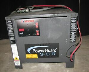 Hawker Powerguard Scr Model Sp53a Forklift 24 Volt Charger 2586
