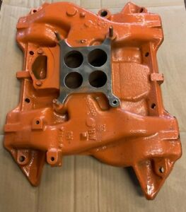 Mopar Oem Big Block Intake Manifold 413 426 Street Wedge 440 2206000 Original