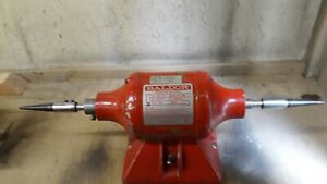 6 Baldor Double end Buffer grinder 3600rpm 1 3 Hp In Used Condition