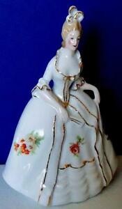 Vintage Figurine Victorian Lady Figurine Vintage Figurine Marked Germany