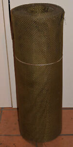 Brass Mesh Roll 36 Wide 155lbs Total