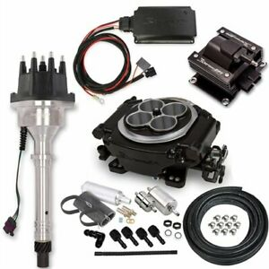 Holley 550 511k4 Sniper Efi Self tuning Hyperspark Master Kit Small Block big Bl