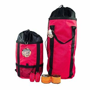 Tree Climers Throw Bag Kit 2 Throw Lines 2 Throw Bags rope Bag Rope Backpack