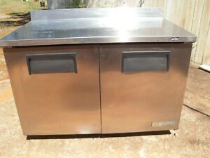 Used Pizza sandwich Prep Table With Refrigerated Base Make True Model Twt 60