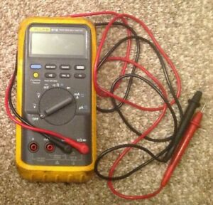 Fluke 87 Iii True Rms Digital Multimeter Electrical Tester W Leads