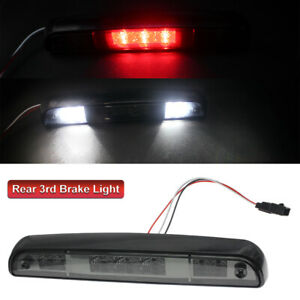 Led Third 3rd Brake Light Smoke Cargo Lamp For 92 96 Ford F150 F250 F350 Bronco