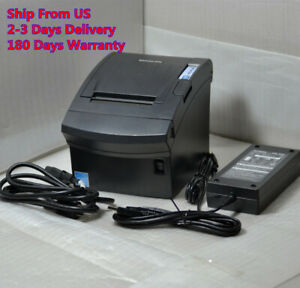 Bixolon Srp 350plusii Thermal Pos Receipt Printer W Power Supply Usb Cable