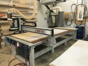 2007 Techno Lc Series 5x10 Flat Table Cnc Router