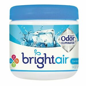 Bright Air Super Odor Eliminator Cool And Clean Blue 14 Oz