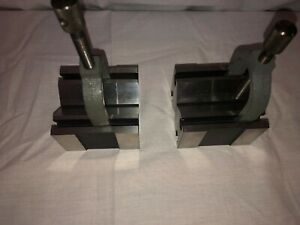 Msc V blocks Matched Pair 649303 For Machinist Workholding Or Inspection