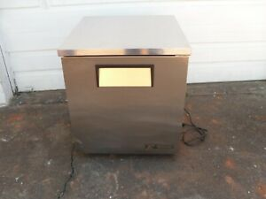 Used Under The Counter Stainless Steel Freezer Make True Model Tuc 27f lp