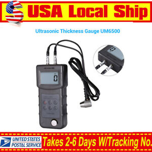 Lcd Ultrasonic Thickness Gauge Meter Tester For Aluminum Metal Iron 0 05 8inch