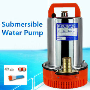 200w Stainless Steel Water Submersible Pump Clean Clear Dirty Pool Pond Flood