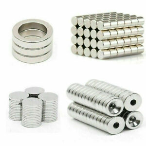 Wholesale N50 Super Strong Round Magnets Rare earth Neodymium Magnets 1 100pcs