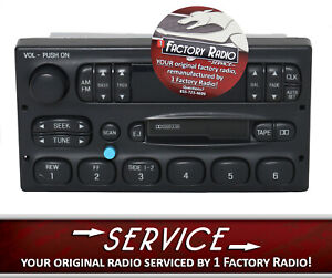 Reman Bluetooth Mod Service For 95 99 Ford Car Truck Am Fm Cassette P100 Radio