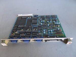 Fuji Circuit Board Vme Card Vm1530 X0012pa 1 Lot 1718 John