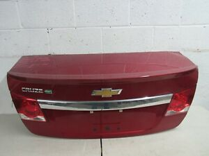 2011 2012 2013 2014 Chevy Cruze Trunk Lid Original Complete