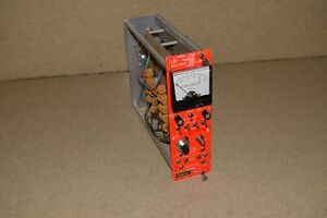 Vern Kiebler Model 6900 Dual Mwpc Meter Supply Nim Bin Plug In tp254