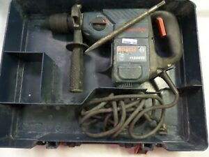 Bosch Rotary Hammer Drill 11236vs Sds plus Corded W Case fully Working